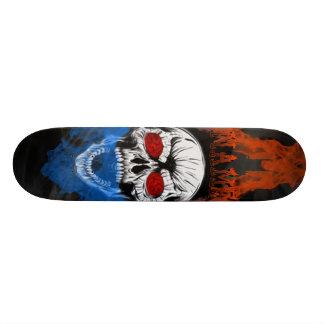 Avfyra skallen skateboard bräda 21,5 cm