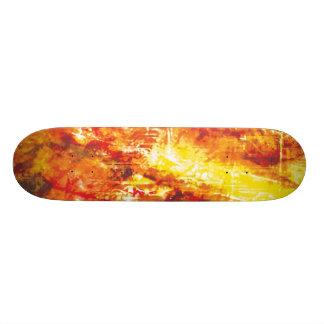 Avfyra splittring stiger ombord old school skateboard bräda 18 cm