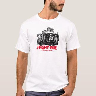 Avfyra t-skjortan för konst för tshirts