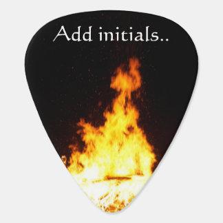 Avfyra tillfogar standarda gitarrer Plektrum för