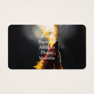 Avfyra vargen visitkort