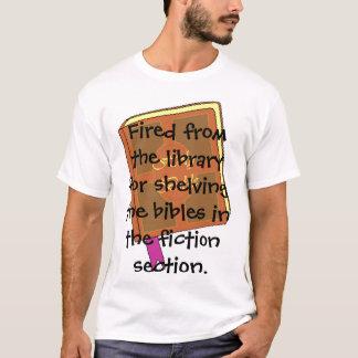 Avfyrat från bibliotek tröja