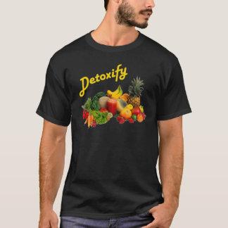 Avgifta frukter och grönsaker tshirts