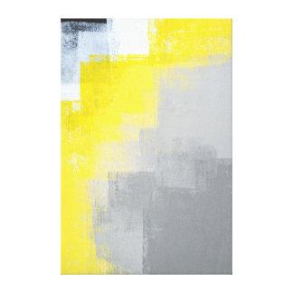 """""""Avlägsen"""" abstrakt konst för grå färg och för Canvastryck"""