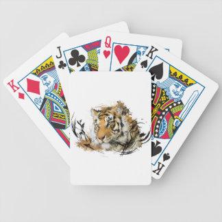 Avlägsen tiger spel kort