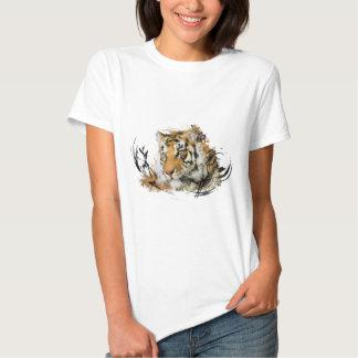 Avlägsen tiger t shirt