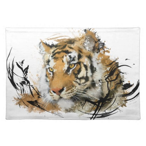 Avlägsen tiger bordstablett