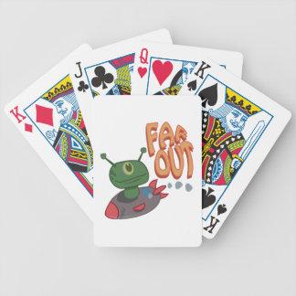 Avlägset ut spelkort
