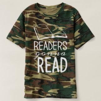Avläsare som går att läsa Camo T Shirt