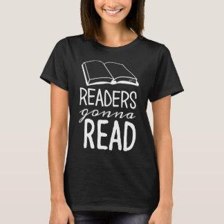 Avläsare som går att läsa T-tröja T-shirts