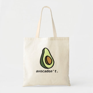 Avocadon't toto budget tygkasse