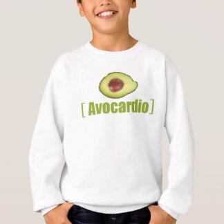 Avocardio rolig avokado illustrerad vitsgrönsak tshirts