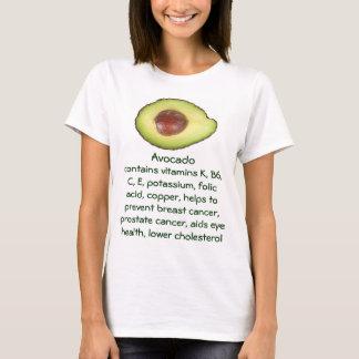 Avokadokvinna skjorta tröjor