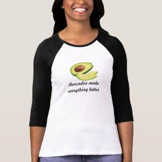 Avokadon gör allt bättre kvinna Bella 3/4 Tee Shirt