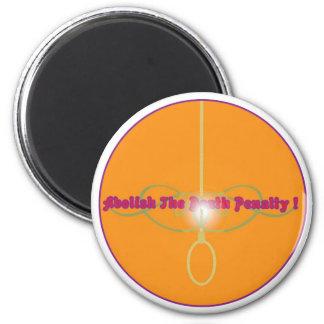 Avskaffa dödsstraff! 2 magnet för kylskåp
