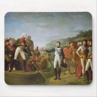 Avsked av Napoleon mig och Alexander mig Musmatta