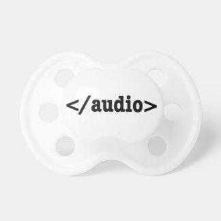 Avsluta audio som HTML5 kodifierar Napp