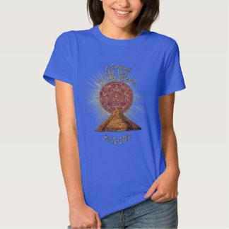 Avsluta av världen - Mayan roligt för Prophecy Tee Shirts
