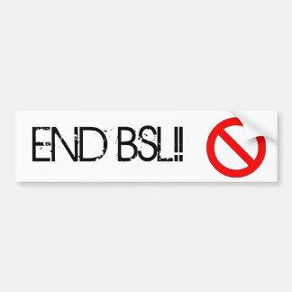 Avsluta BSL-bildekalet Bildekal