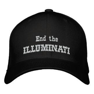 Avsluta illuminatien broderad keps