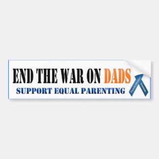 Avsluta krig på pappor bildekal