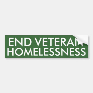 Avsluta veteranHomelessnessbildekalet Bildekal