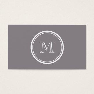 Avslutar den gråa kicken för Taupe kulör personlig Visitkort