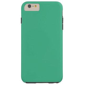 Avslutar den gröna kicken för Mint kulört Tough iPhone 6 Plus Fodral