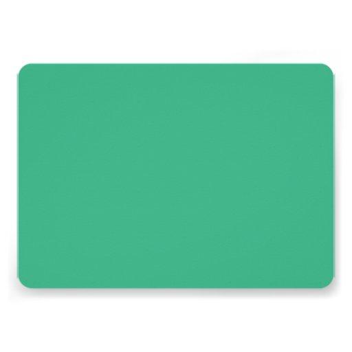 Avslutar den gröna kicken för Mint kulört Inbjudan
