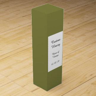 Avslutar den gröna kicken för vildkaprifolium fast förpackning för vinflaska