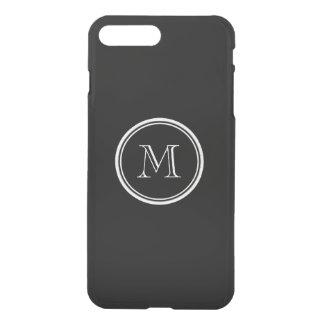 Avslutar den initiala svart kicken för Monogram iPhone 7 Plus Skal