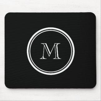 Avslutar den initiala svart kicken för Monogram Mus Matta