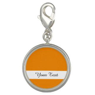 Avslutar den orange kicken för Tangerine kulört Foto Berlock