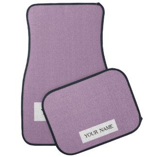 Avslutar den purpurfärgade kicken för lavendel bilmatta
