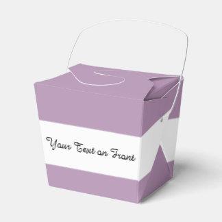 Avslutar den purpurfärgade kicken för lavendel presentask