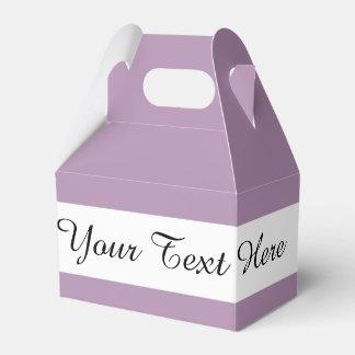 Avslutar den purpurfärgade kicken för lavendel presentaskar