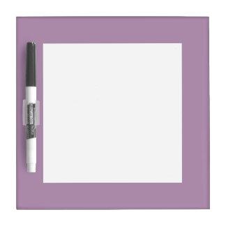Avslutar den purpurfärgade kicken för lavendel Dry-Erase boards