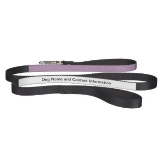 Avslutar den purpurfärgade kicken för lavendel hund koppel