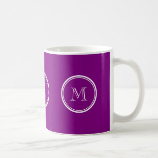 Avslutar den purpurfärgade kicken för patriark kaffemugg