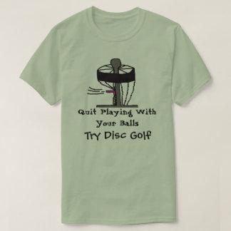 Avslutat leka med t-skjortan för golf för t-shirt