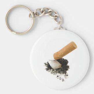 Avslutat röka rund nyckelring