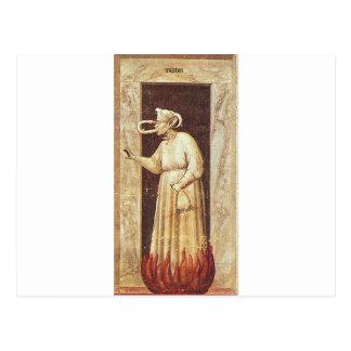 Avund vid Giotto Vykort