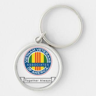 AVVA-nyckelring Rund Silverfärgad Nyckelring