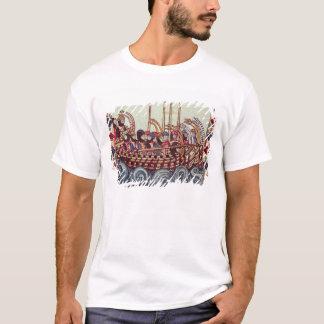 Avvikelse av ett fartyg för korstågen, t shirts