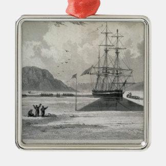 Avvikelse av fartygen från den Hecla coven, Juni Julgransprydnad Metall