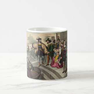 Avvikelsen av Christopher Columbus Kaffemugg