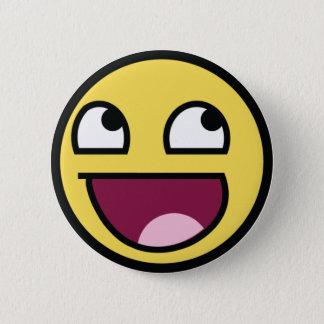 Awesomeface knäppas standard knapp rund 5.7 cm