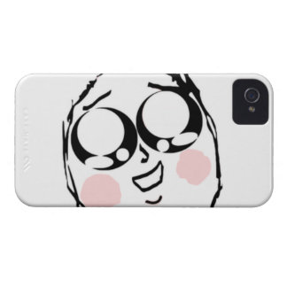 Aww gulligt komiskt ansikte iPhone 4 Case-Mate cases