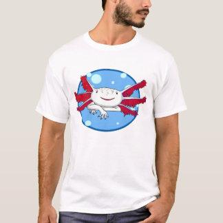 axolotlen (vit med fläckar) bubblar skjortan tee shirts