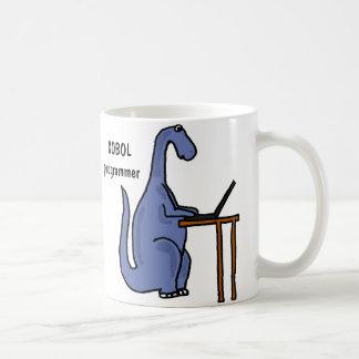 AY-, mugg för COBOL programmerareDinosaur